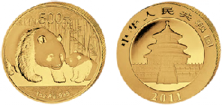Chinese Gold Panda Coins