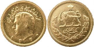 Pahvlavi Gold Coins