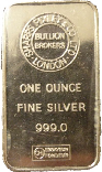 Silver Bullion 1oz Bar