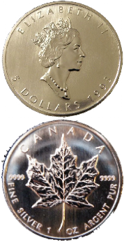 Silver Maple Coins Canada