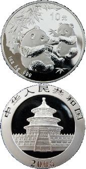 Silver Panda Coins