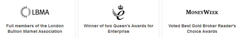 Bullionvault Awards